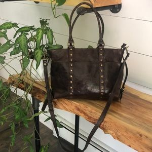 Patricia Nash Carducci Distressed Leather Bag